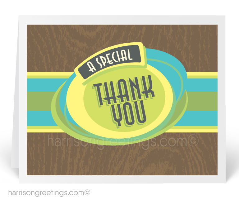 Retro Thank You Cards For Business 10216 Ministry Greetings