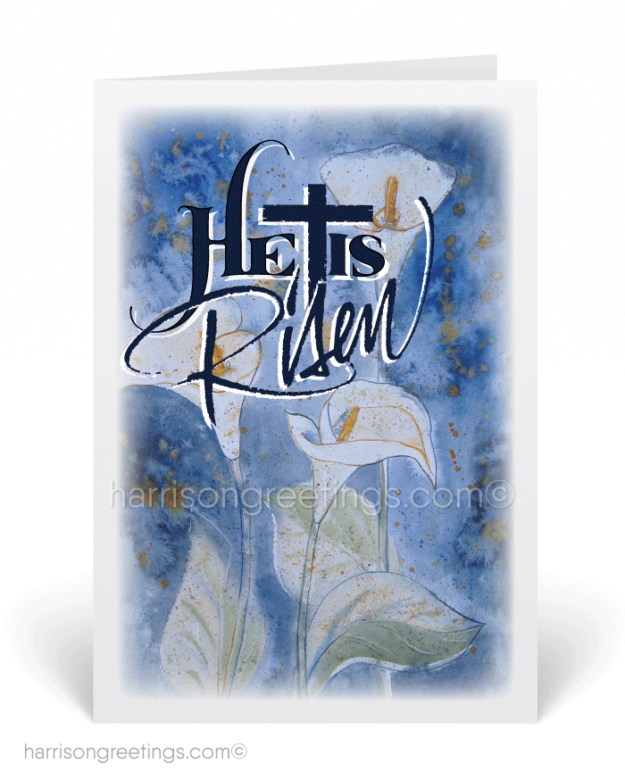 Religious Christian Easter Greeting Cards