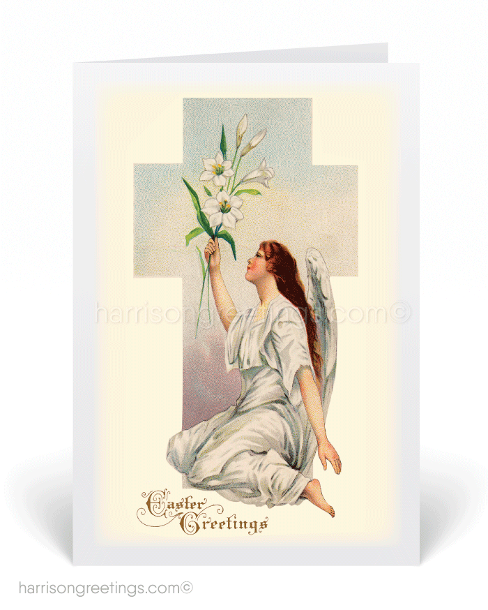 Antique vintage religious easter greeting card 10577 ministry antique vintage religious easter greeting card m4hsunfo
