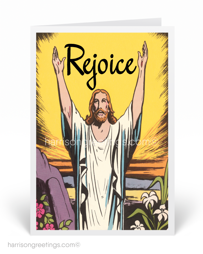 Jesus Christ Easter Greeting Cards 10723 Ministry Greetings