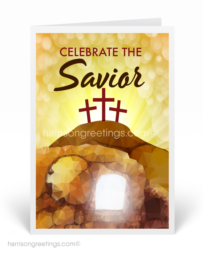Christian Happy Easter Greeting Cards