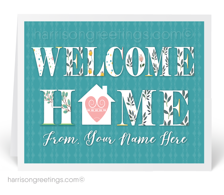 Welcome home home sweet home realtor cards 11582 ministry welcome home home sweet home realtor cards m4hsunfo