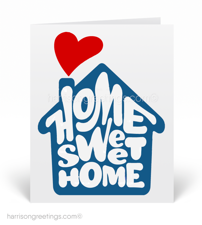 Welcome home home sweet home realtor cards 11585 ministry welcome home home sweet home realtor cards m4hsunfo