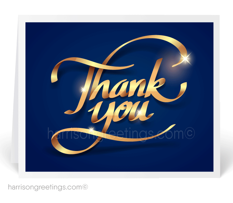professional thank you
