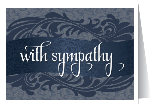 Traditional Sympathy Greeting Card