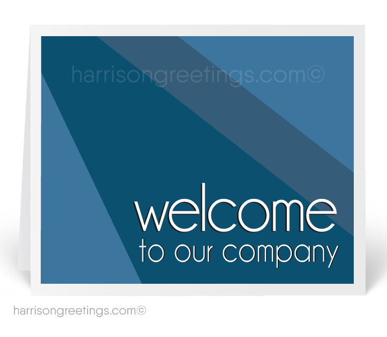 Welcome To Our Company Greeting Card 1243 Ministry Greetings