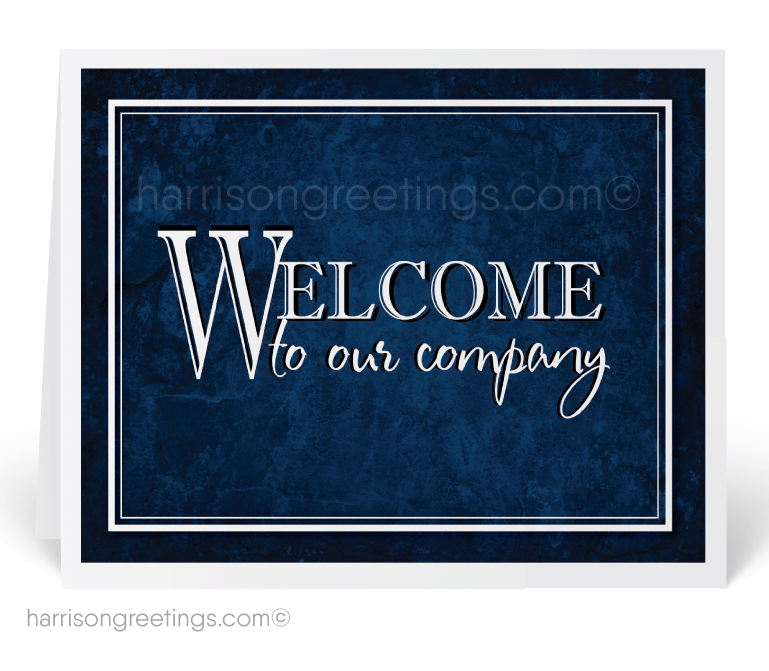 Welcome To Our Company Greeting Cards 1249 Ministry Greetings