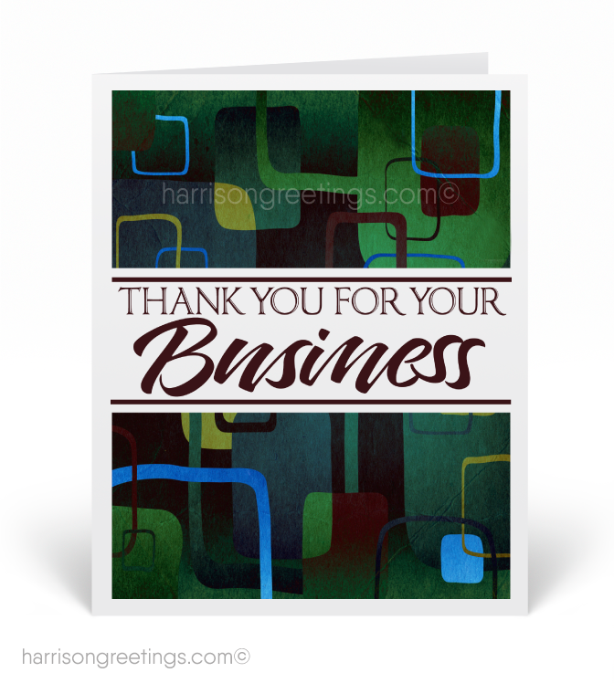 Modern business thank you card 1268 ministry greetings modern business thank you card reheart Images