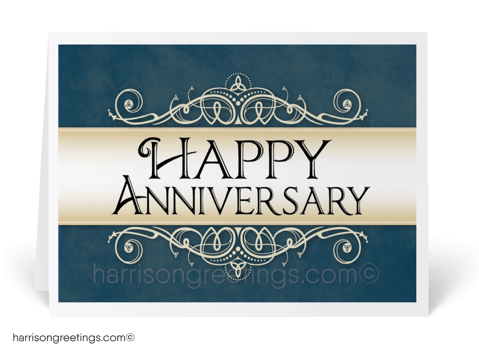 Business Anniversary Greeting Card [1327] : Ministry Greetings ...
