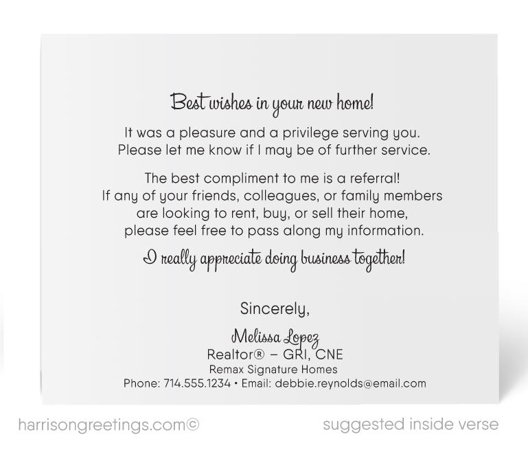 Realtor thank you real estate greeting card 15210 ministry realtor thank you real estate greeting card m4hsunfo