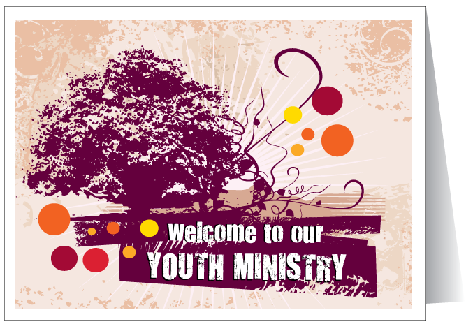Welcome Youth Ministry Card