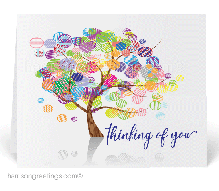 Thinking of You Greeting Card - Click Image to Close