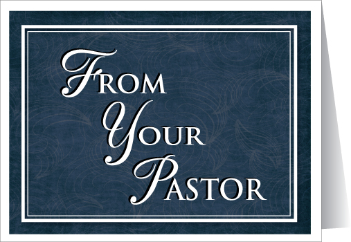 From Your Pastor Greeting Card