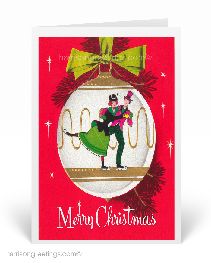 1920s Art Deco Vintage Christmas Cards [SW118] : Ministry Greetings ...