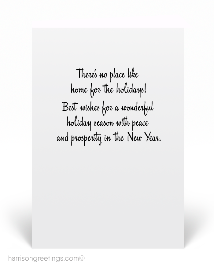 Mid-Century Modern Realtor Holiday Card [37551] : Ministry Greetings ...