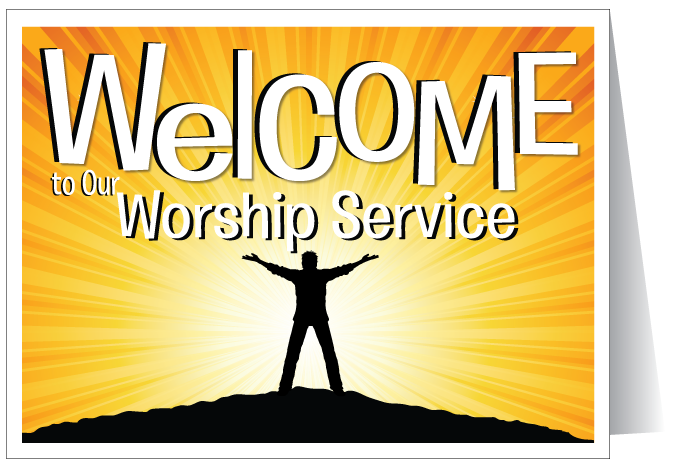 Welcome to our church cards ministry greetings christian cards welcome to our church card m4hsunfo