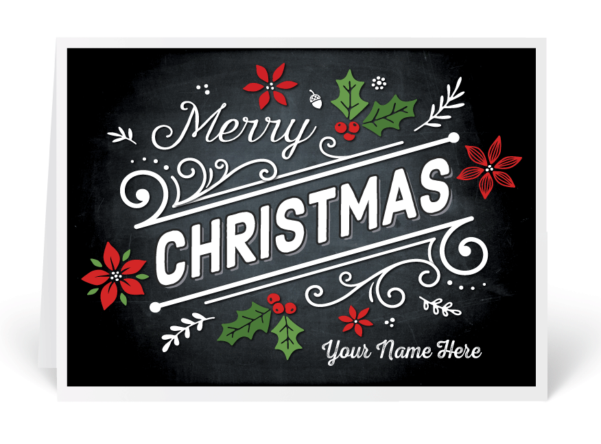 Old fashioned christmas cards ministry greetings christian cards vintage merry christmas chalkboard holiday card bookmarktalkfo Images