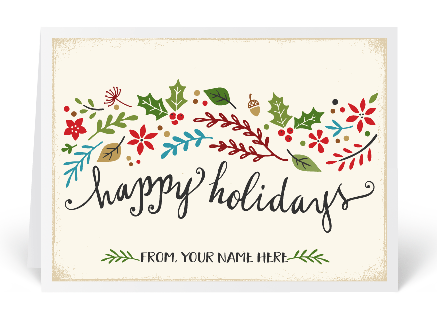 Ministry greetings christian cards church postcards visitor cards whimsical holiday greeting card bookmarktalkfo Images