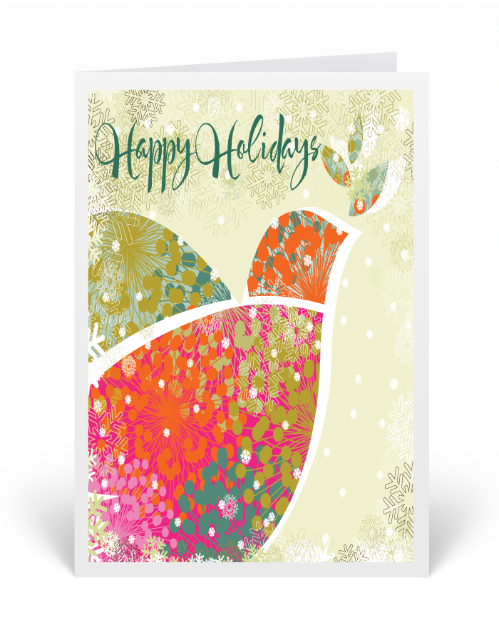 Modern Whimsical Christmas Greeting Card [36692] : Ministry ...