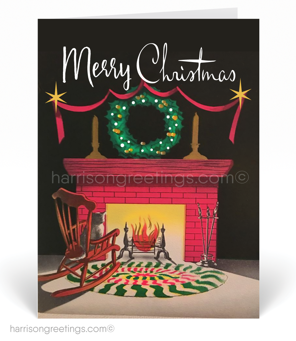 Realtor Vintage 1950s Christmas Cards [37554] : Ministry Greetings ...