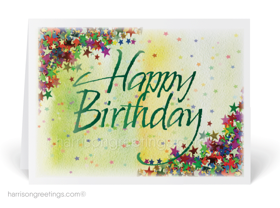 Happy Birthday Greeting Card 38003 Ministry Greetings Christian