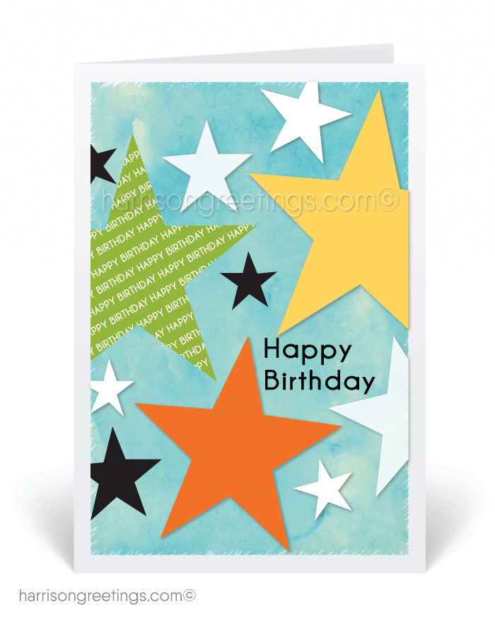 Custom Birthday Greeting Card - Click Image to Close