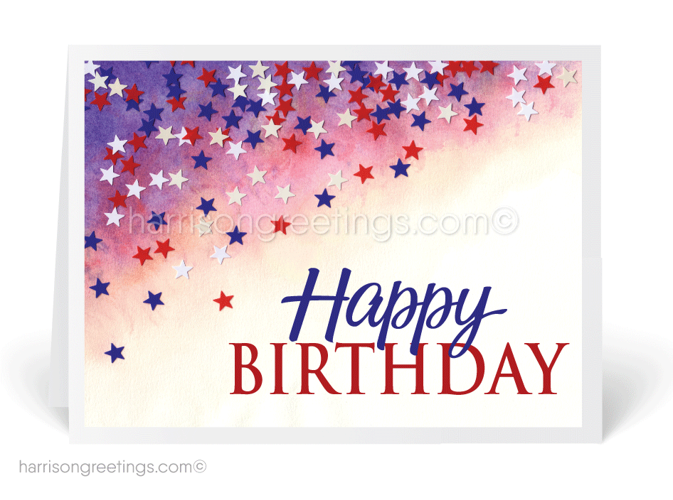 birthday postcards for businesses