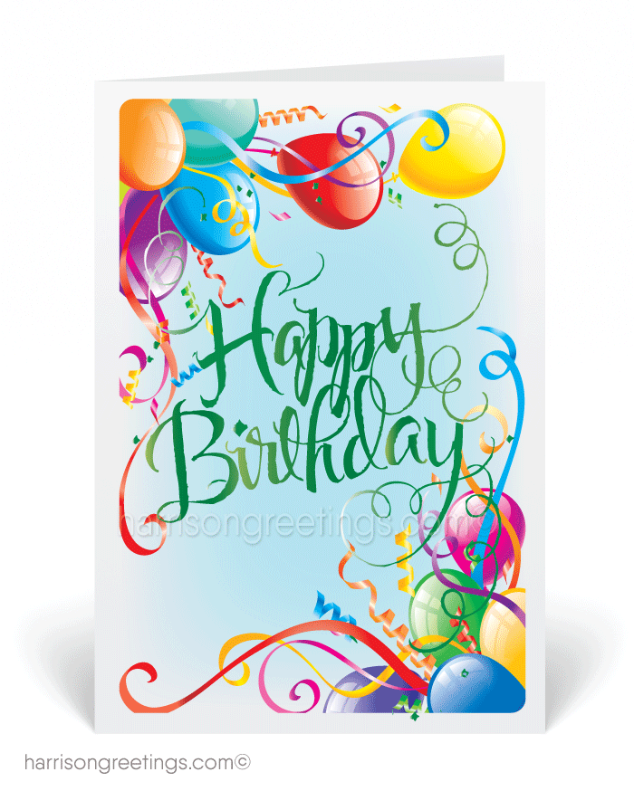 Happy Birthday Cards For Business [3878] : Ministry Greetings ...