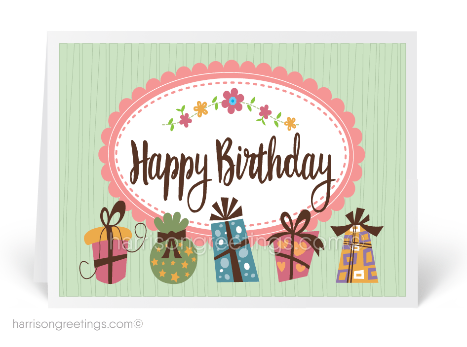 Whimsical Happy Birthday Cards