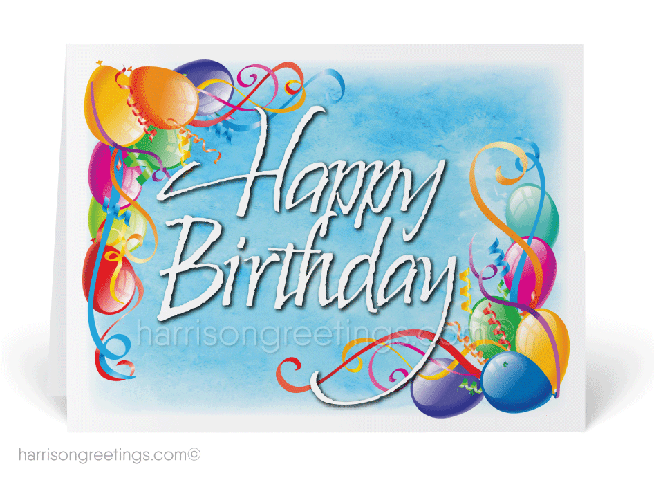 Watercolor happy birthday cards 3820 ministry greetings happy birthday balloons card m4hsunfo