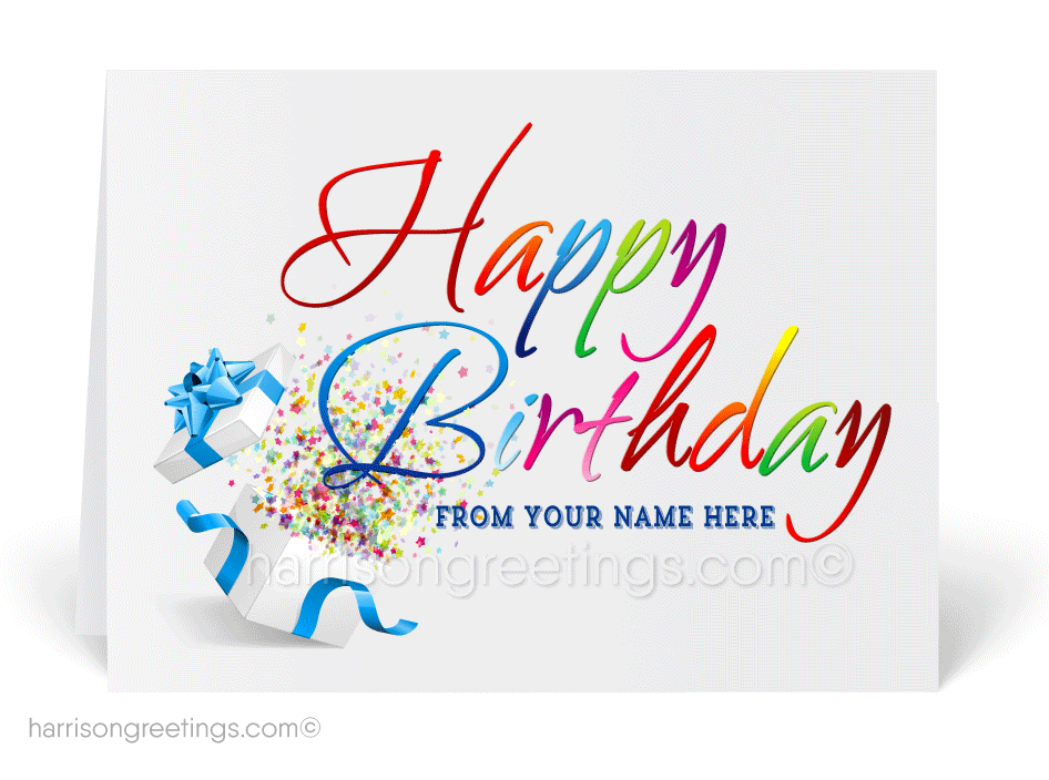 Happy Birthday Cards For Business 39095 Ministry Greetings