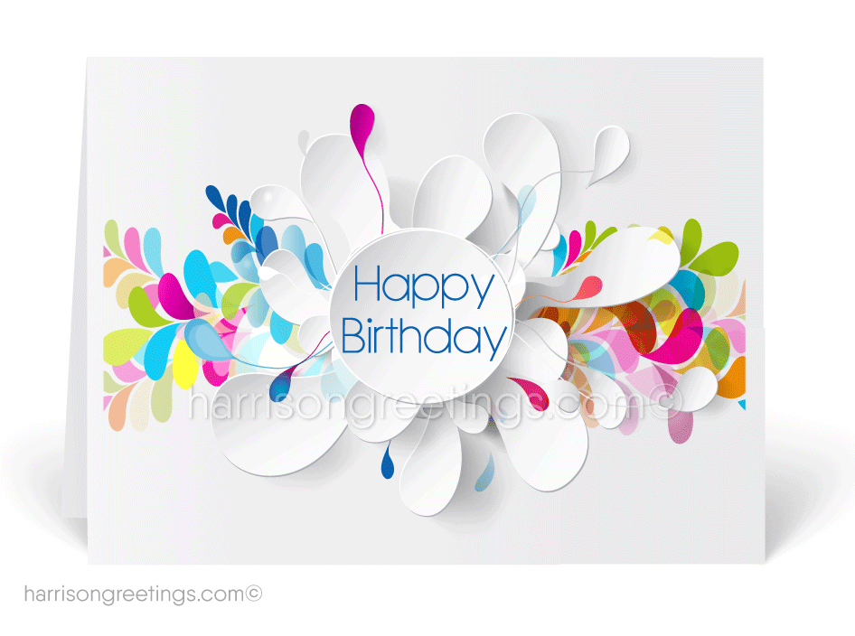 Contemporary Happy Birthday Cards 39105 Ministry Greetings