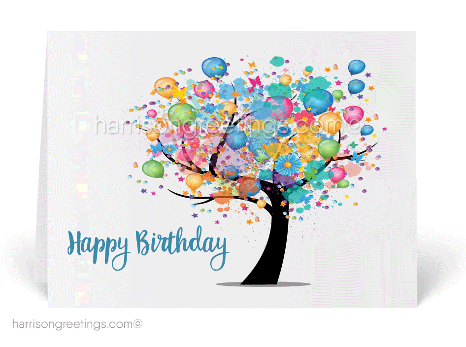 Happy Birthday Cards for Business [39116] : Ministry Greetings ...