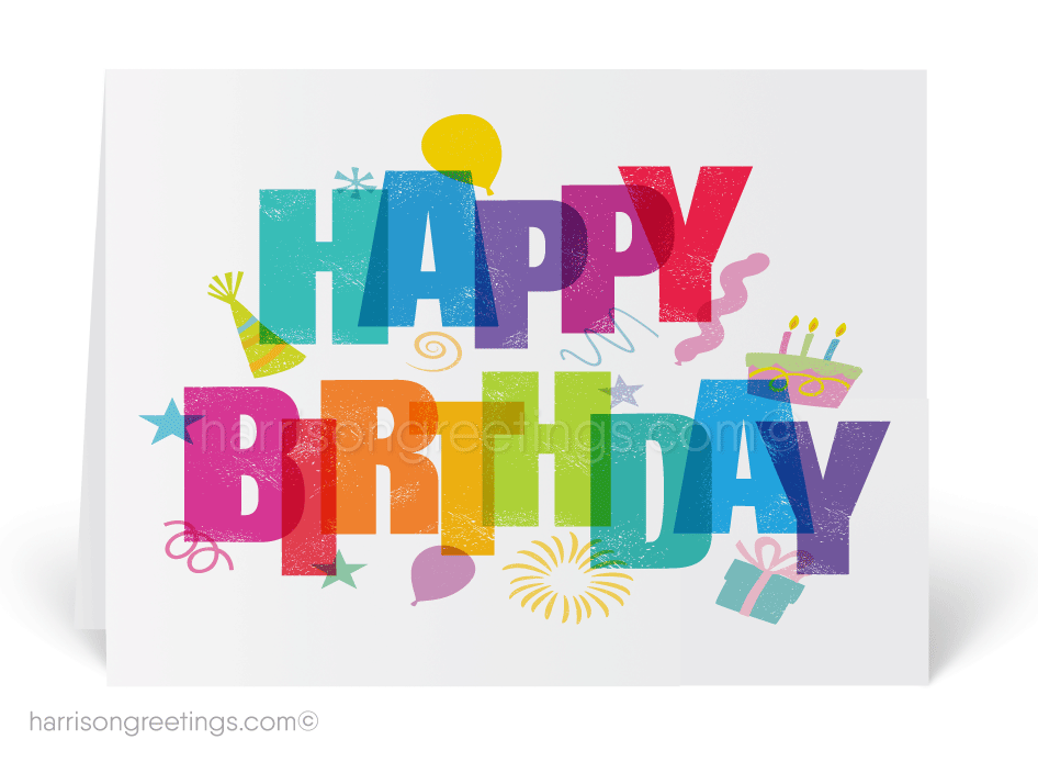 Happy Birthday Cards for Business [39118] : Ministry Greetings ...