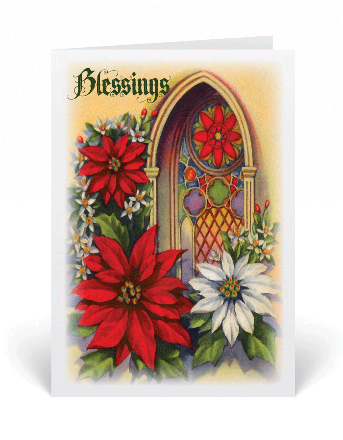 Christian Vintage Victorian Christmas Card 5026 Ministry