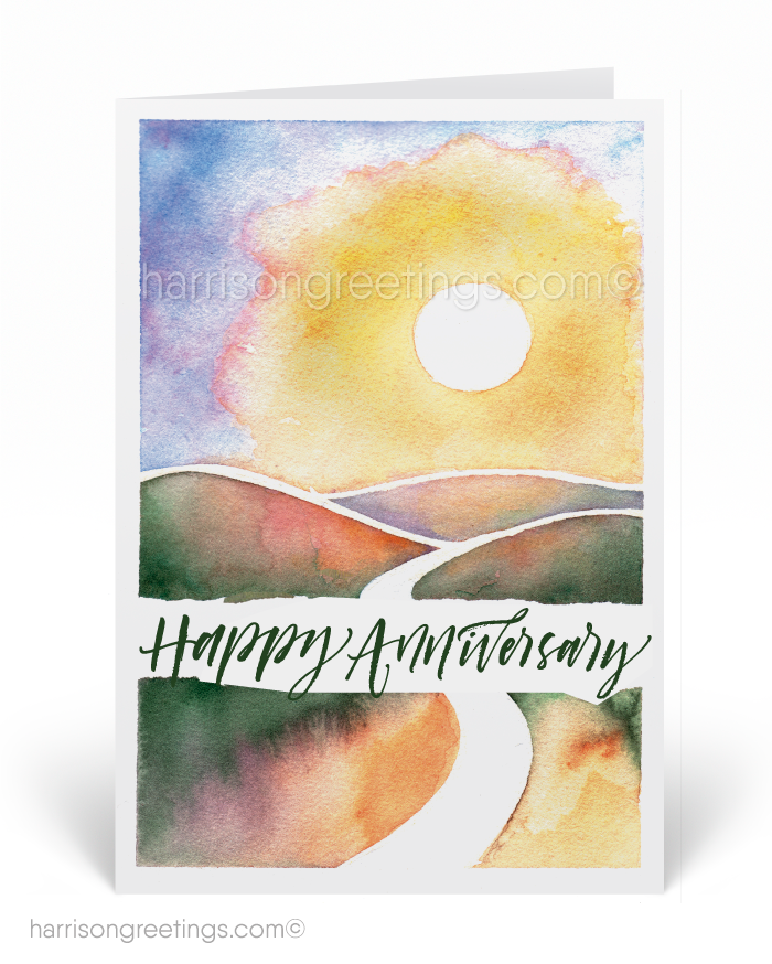 Watercolor happy anniversary greeting cards 785 ministry watercolor happy anniversary greeting cards m4hsunfo