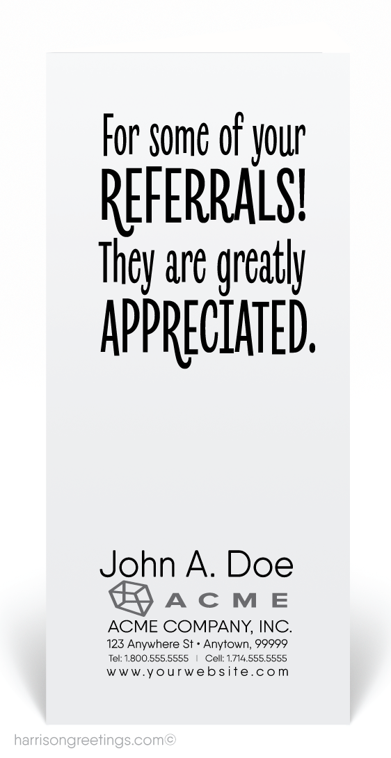 Fishing For Your Referrals Card 80105 Ministry Greetings