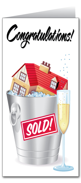 Custom Real Estate Congratulations Card