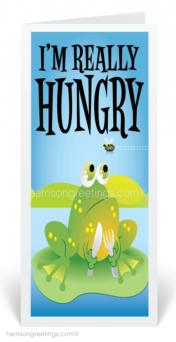 Hungry For Your Business Card [80405] : Ministry Greetings ...