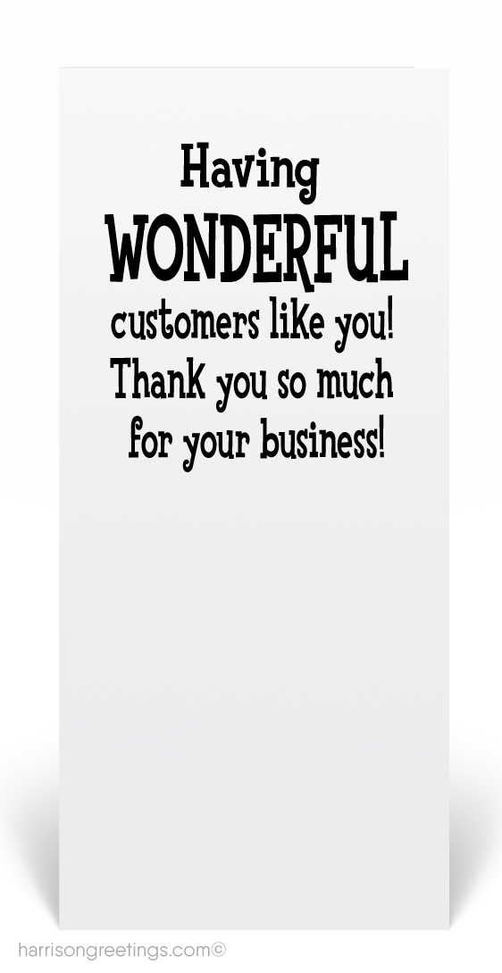 Awesome Customer Thank You Card 80454 Ministry Greetings