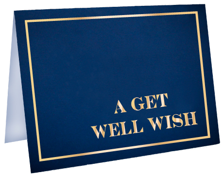 Get Well Wish Greeting Card