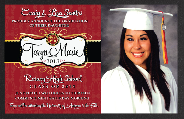 What are graduation announcements zrom filmwisefo
