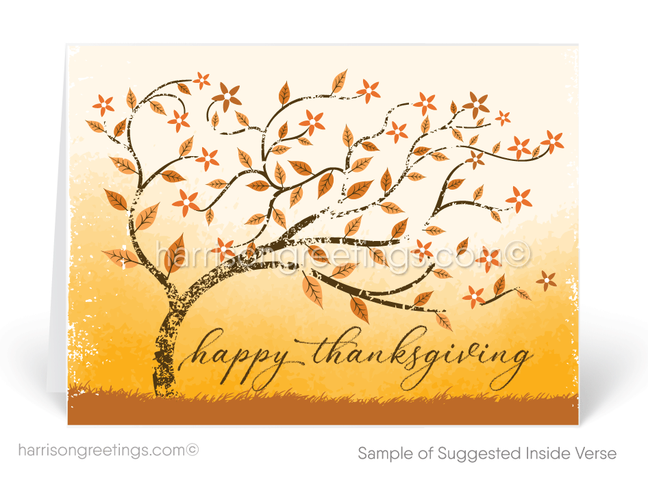 Whimsical fall thanksgiving card tg104 ministry greetings whimsical fall thanksgiving card m4hsunfo