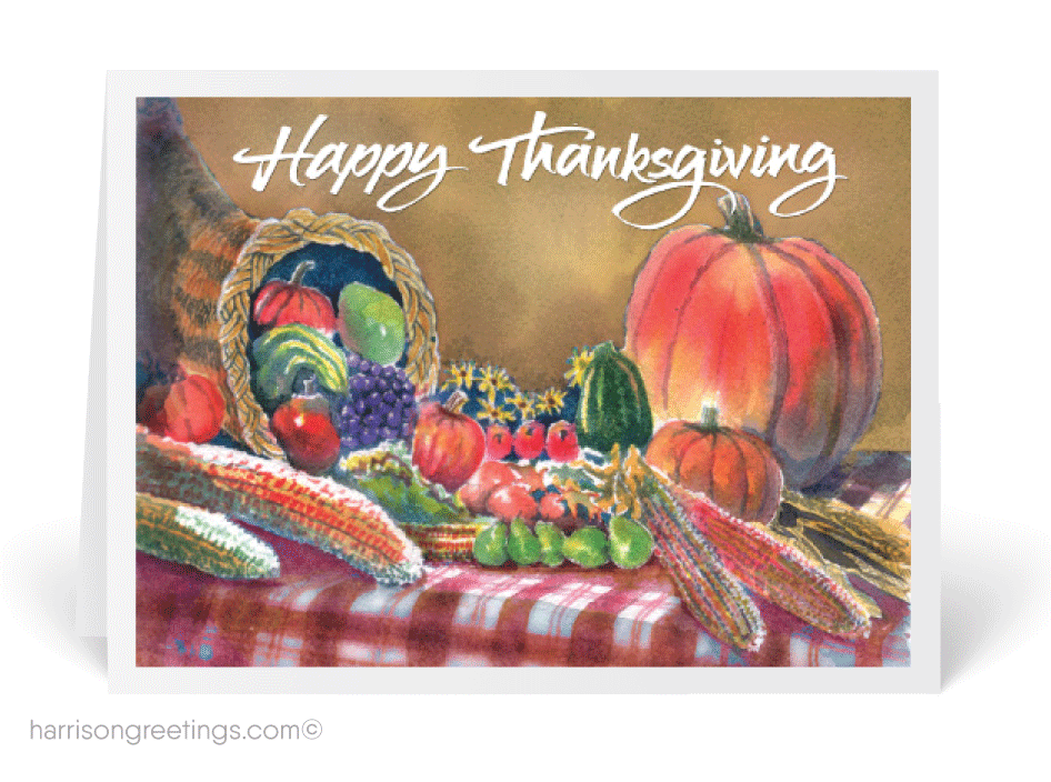 Christian Thanksgiving Greeting Card