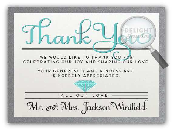 Diamond Graphic Thank You Card Di 5010ty Ministry Greetings