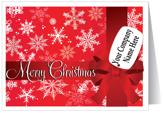Custom Merry Christmas Card