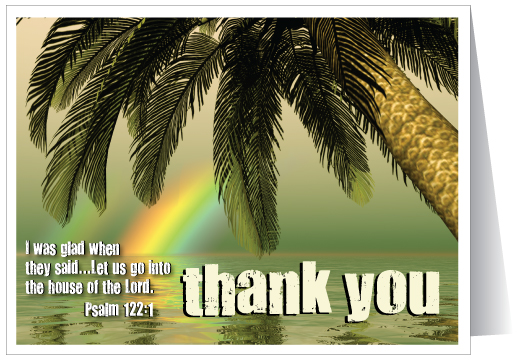 Thank You Ministry Note Card