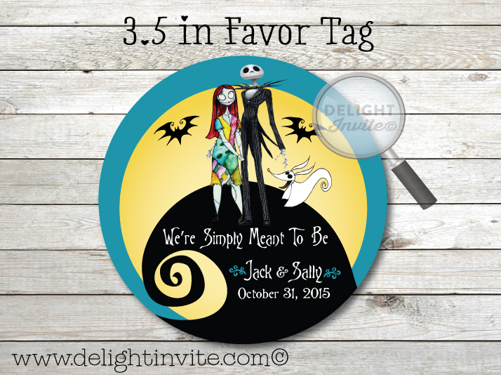Pictures Of Nightmare Before Christmas Wedding Favors Kidskunstfo
