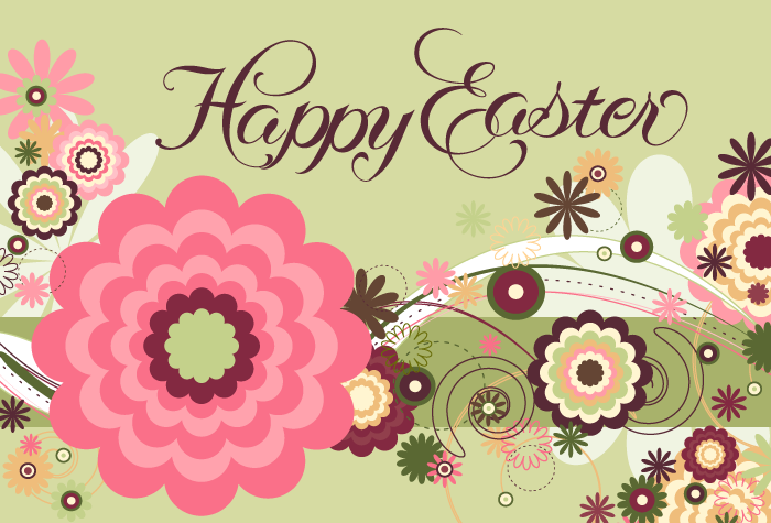 Happy Easter Postcard - Click Image to Close