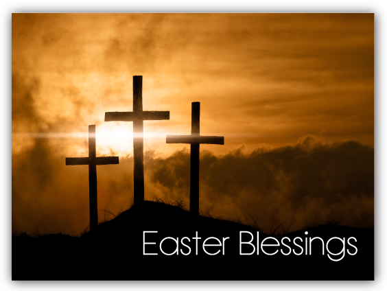 Cross Christian Easter Postcards